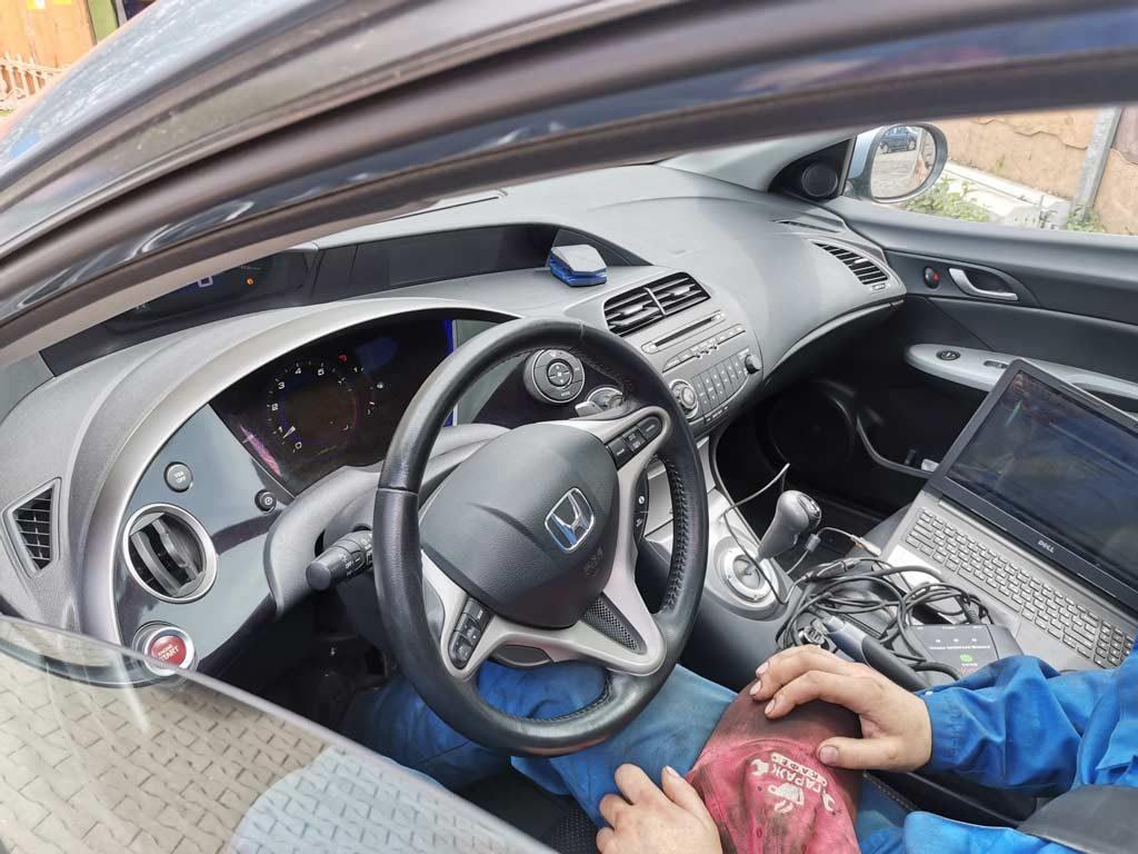 хонда цивик робот - ремонт в Минске